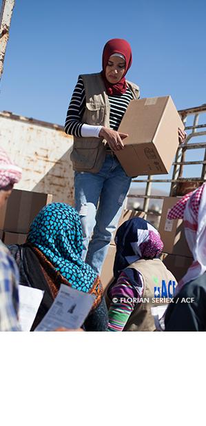 Emploi Jobs à Action contre la Faim travailler dans l'humanitaire FestFood Paris